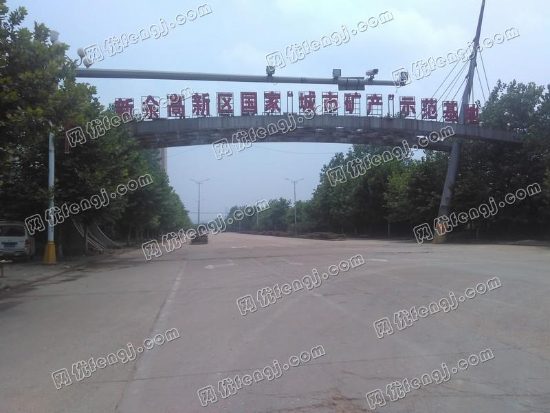 江西新余钢铁再生资源产业基地