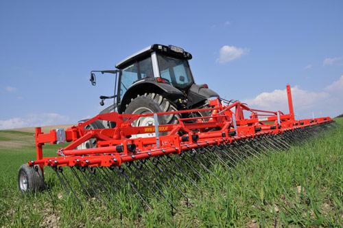 农业机械的材料分析