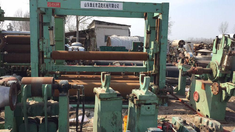 河南省沁阳市夏庄造纸设备调剂中心