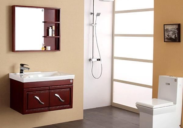 从材质比拼各类浴室柜优缺点